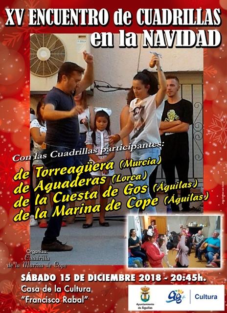XV Encuentro de Cuadrillas en la Navidad