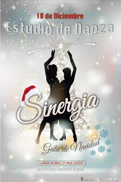 Gala de Navidad. Escuela de Baile Sinergia.