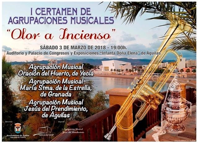 I Certamen de Agrupaciones Musicales Olor a incienso