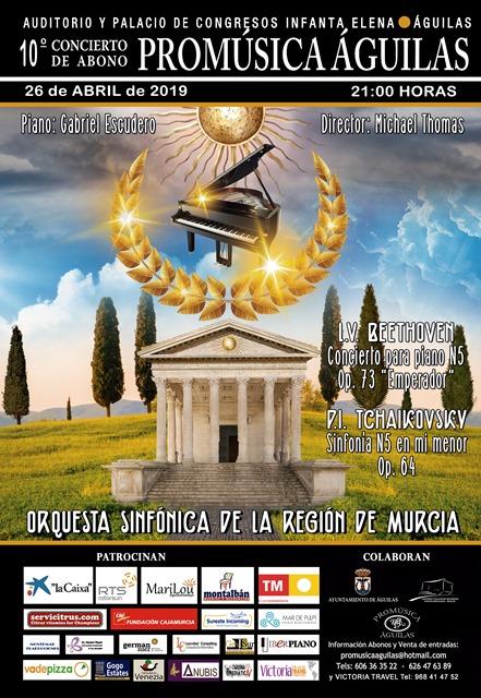 Concierto Promúsica. 10º Concierto de Abono.