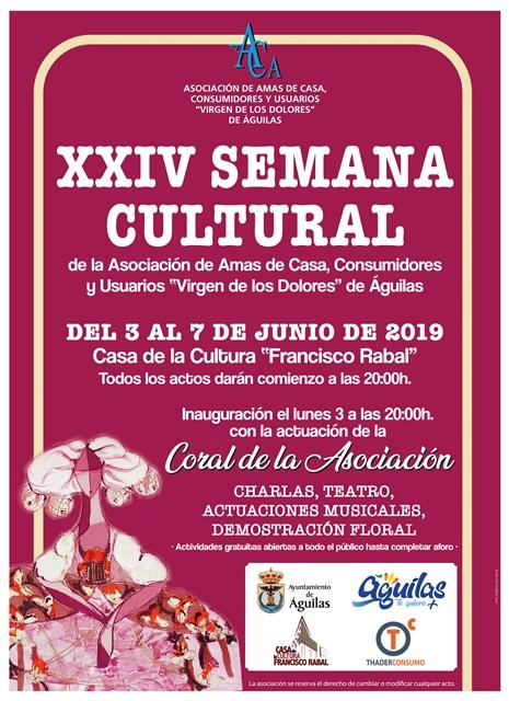 XXIV Semana Cultural de la Asociación de Amas de Casa, Consumidores y Usuarios
