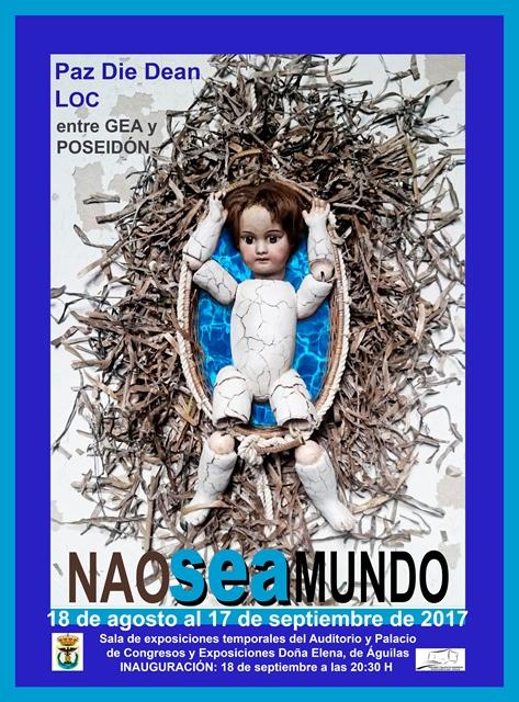 Naoseamundo. Exposición de Paz Die Dean y LOC