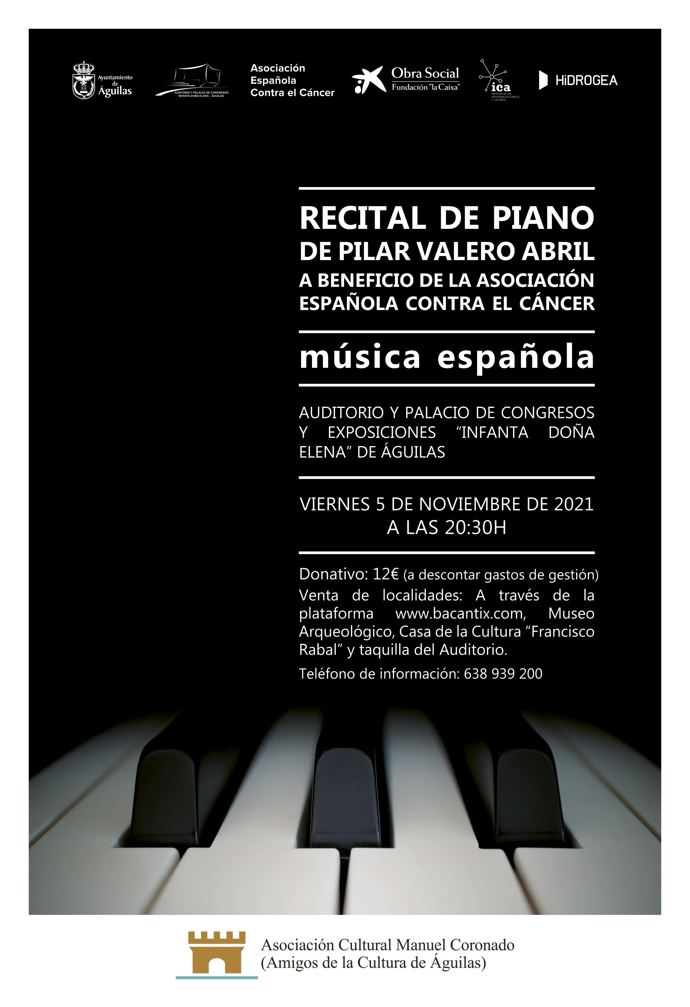 Recital de Piano de Pilar Valero Abril