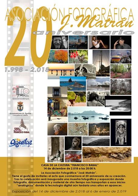 Exposición 20 Aniversario Asociación Fotográfica