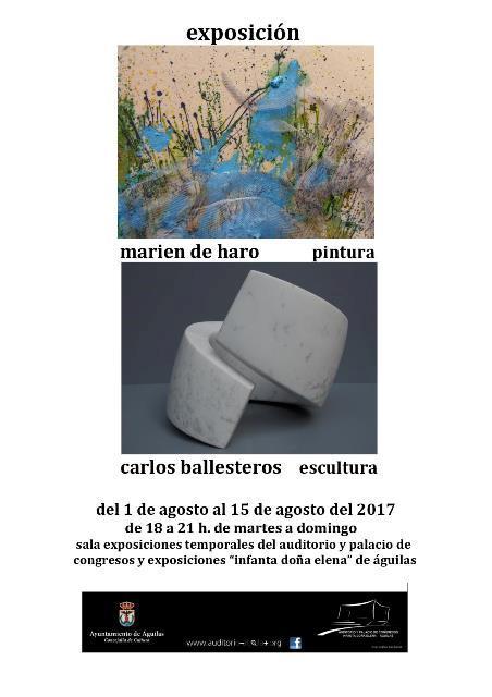 Exposición Marien de Haro y Carlos Caballero