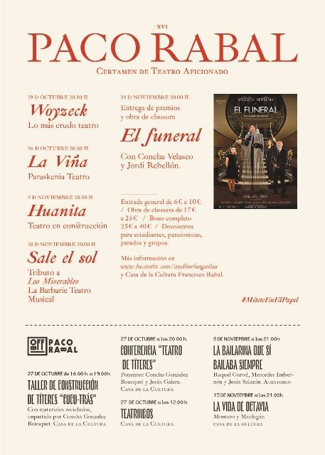 XVI Certamen de Teatro Aficionado