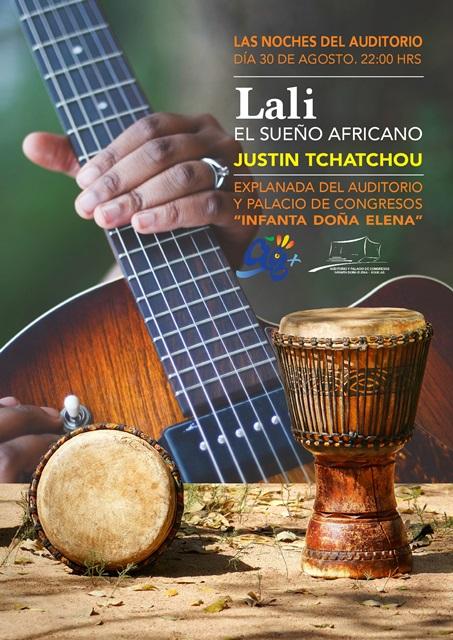 Lali, el sueño africano. Justin Tchatchou.