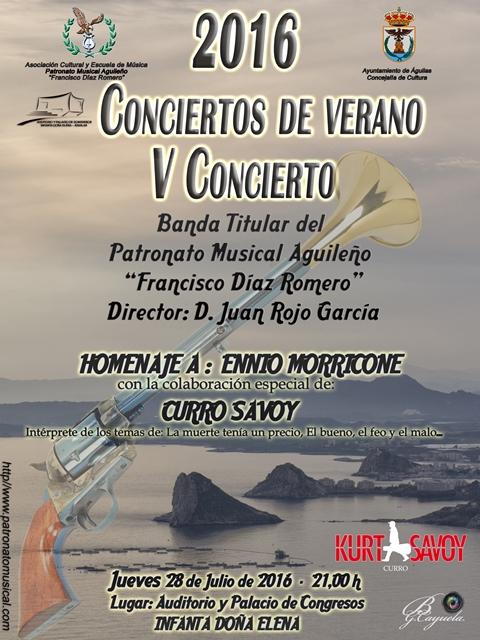 Conciertos de Verano. V� Concierto. Homenaje a Ennio Morricone.