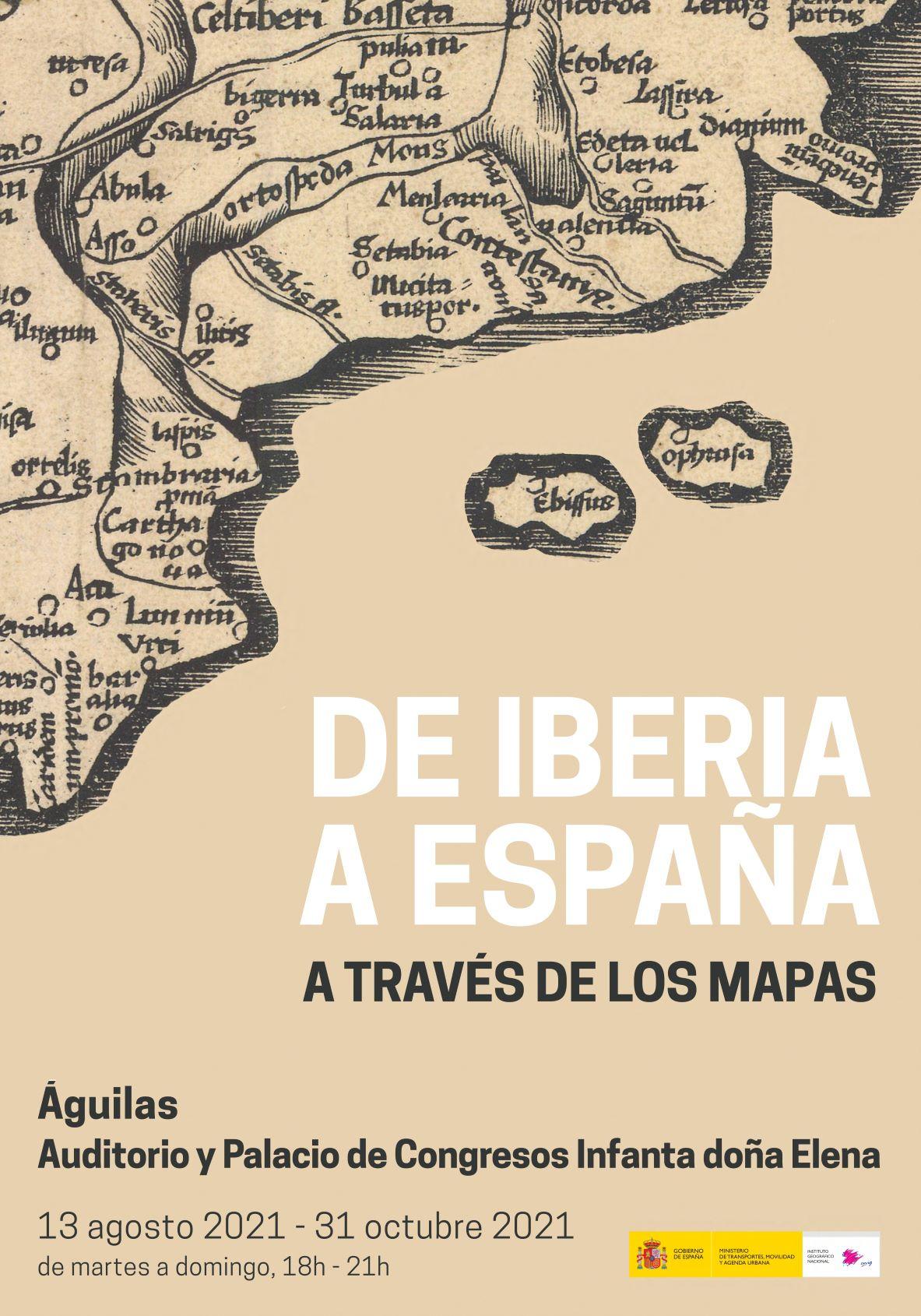 De Iberia a España a través de los mapas.