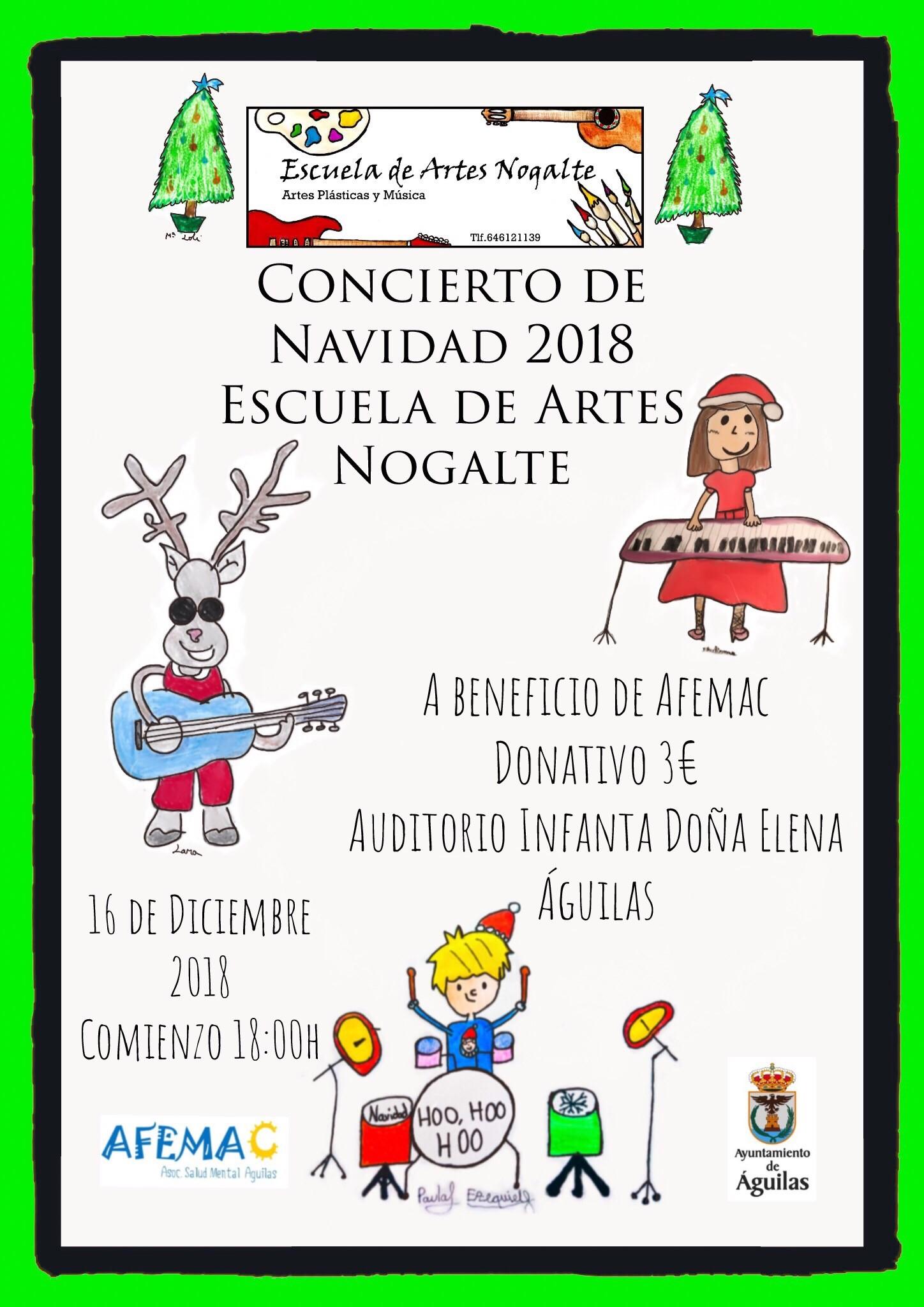 Concierto de Navidad de la Escuela de Artes Nogalte