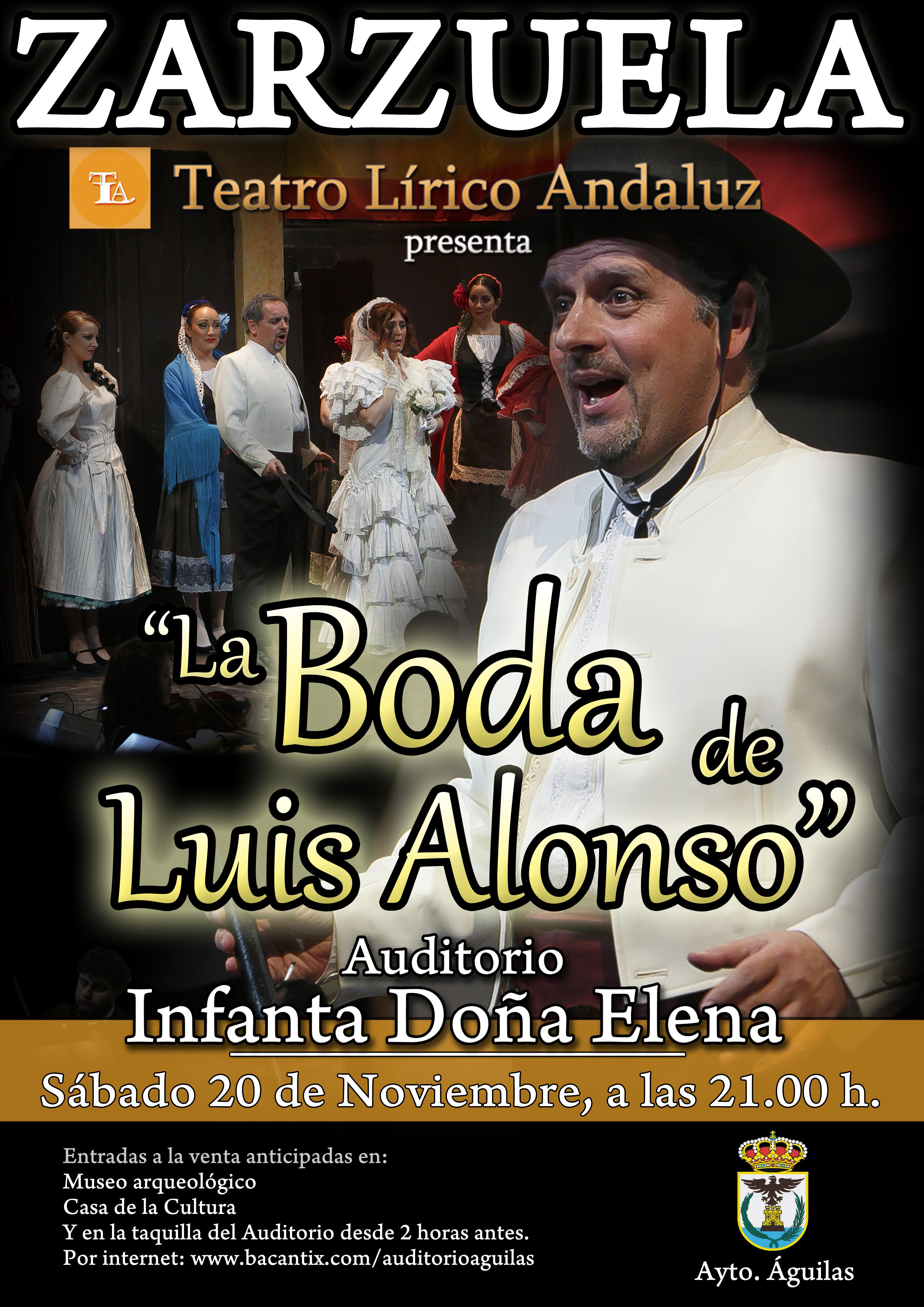 La Boda de Luis Alonso.