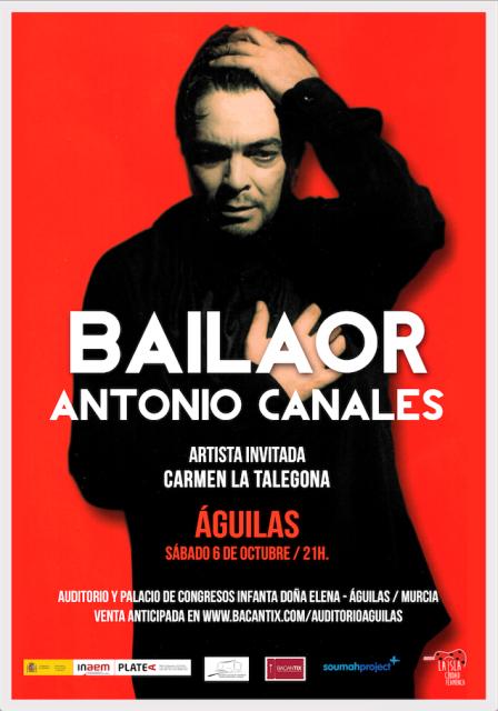 Bailaor. Antonio Canales