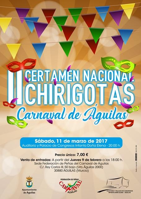 II Certamen Nacional de Chirigotas