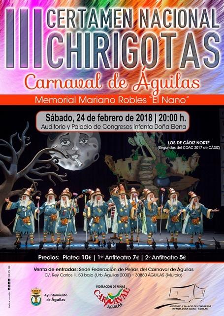 III Certamen Nacional de Chirigotas Carnaval de Aguilas