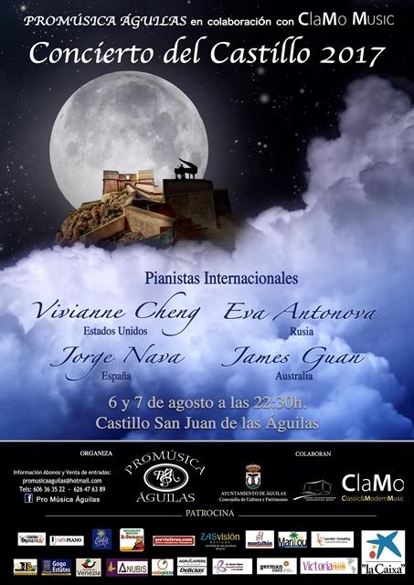 Los conciertos del Castillo. 2017.