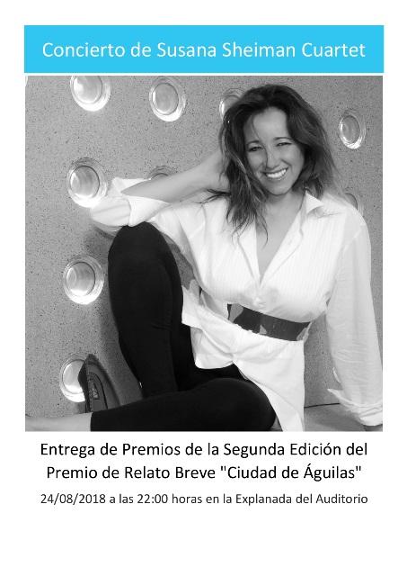 Concierto de Susana Sheimann Cuartet