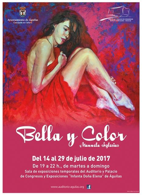 Bella y Color. Exposición de Manoli Iglesias.