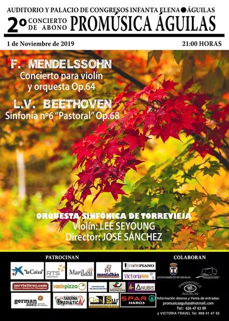 Concierto Promúsica. 2º Concierto de Abono.