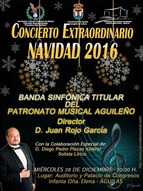 Concierto Extraordinario de Navidad 2016