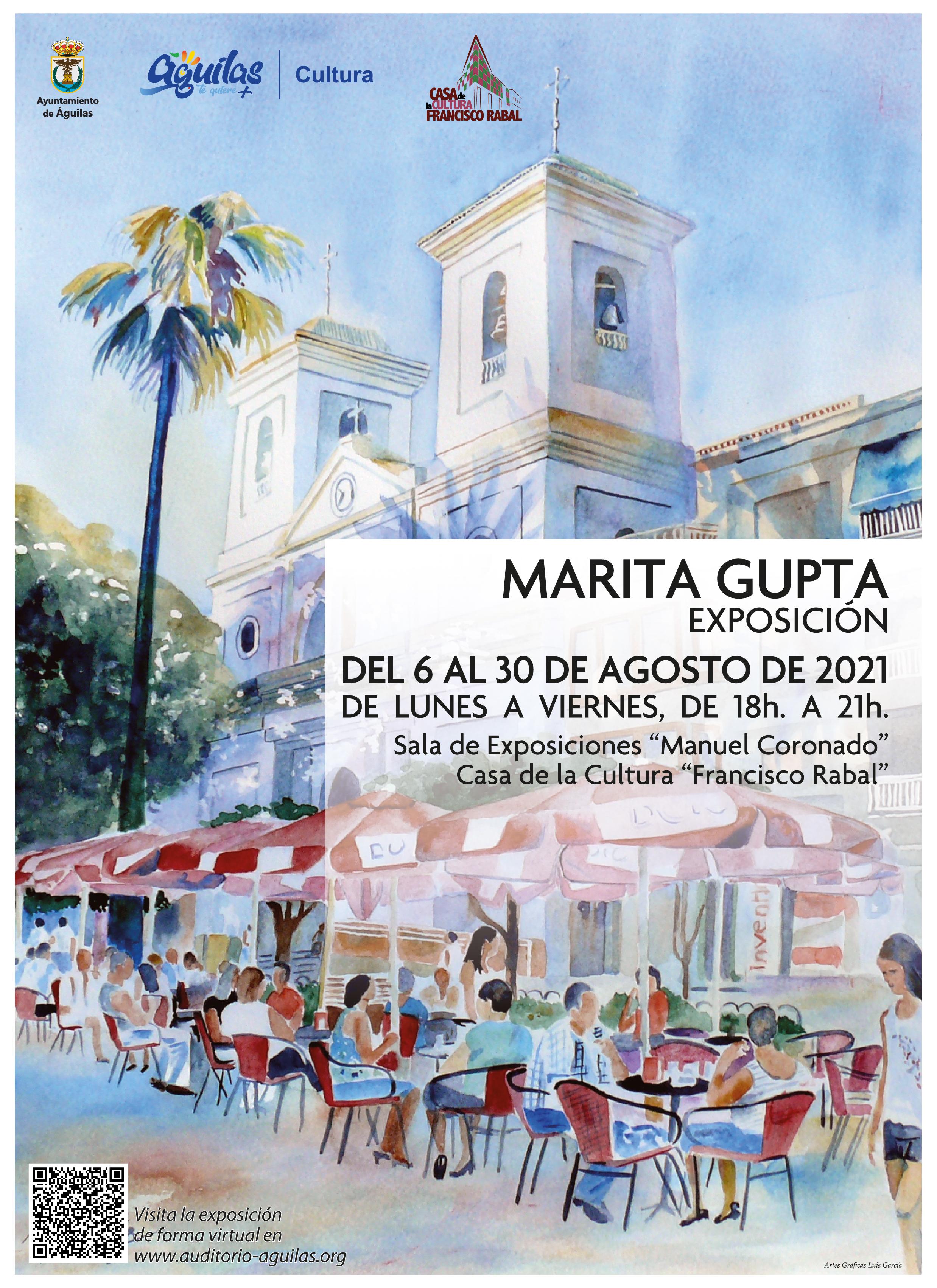Marita Gupta Exposición